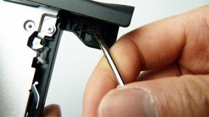 piastra frontale in plastica dall'unità ottica